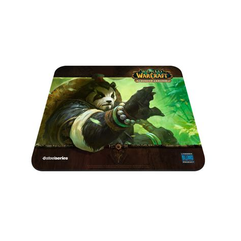 tapis de souris world of warcraft steelseries qck edition limit 233 e world of warcraft mists of pandaria quot panda forest quot tapis de