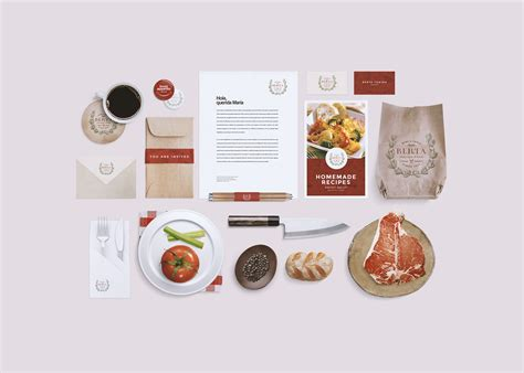 We hope you are well and producing amazing designs and art works from your magical desks. Restaurant/Food Identity Mockup ~ Product Mockups on ...