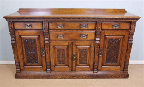 Antique Oak Sideboard by Antique Oak Sideboard Dresser Base C 1895 10512