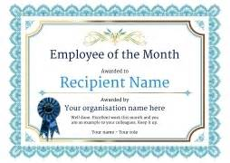 employee of the month certificate template employee of the month template beepmunk