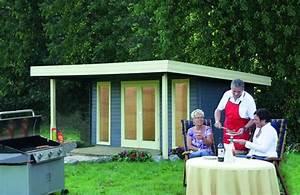 Gartenhaus 40 Qm : optima 40 flachdach gartenhaus mit doppelt r ~ Frokenaadalensverden.com Haus und Dekorationen