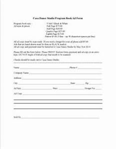 Dance Recital Program Template You May Also Download The Dance In 2019 Dance