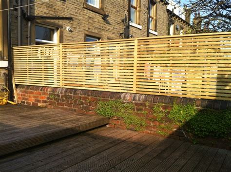 slatted screen fencing price list pride home services