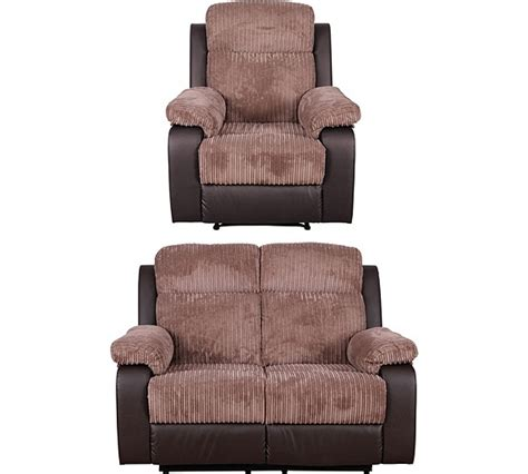 buy collection bradley 2 seat manual recliner sofa chair nat at argos co uk your