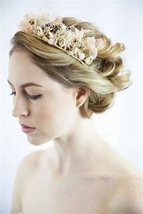 Bridal Hair Flower Wreath Sissily