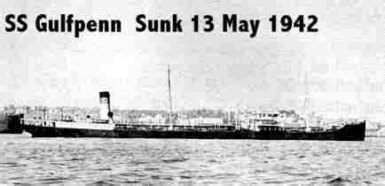 German U Boats Gulf Of Mexico by Gulf Ship Web Pages