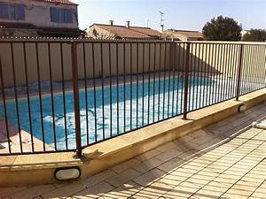 Barrière De Piscine Escamotable : barri re homologu e de protection piscine verseau ~ Premium-room.com Idées de Décoration