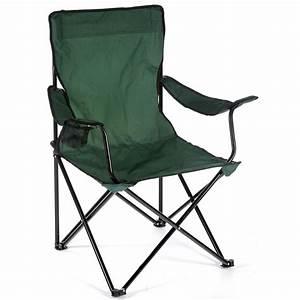 Hunter Green Camping Chair at Hayneedle
