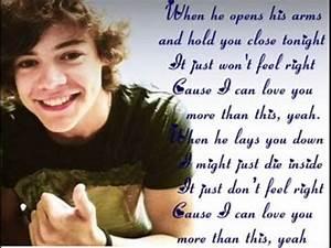 One Direction More Than This Lyrics | www.pixshark.com ...