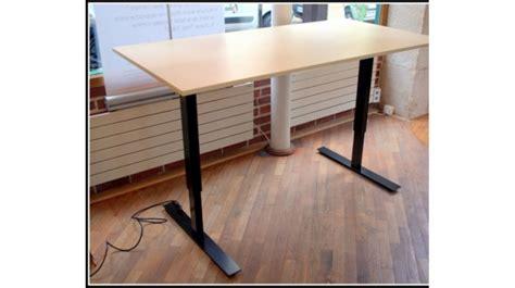 bureau electrique structure pour bureau réglable électrique noc 2 mobilier