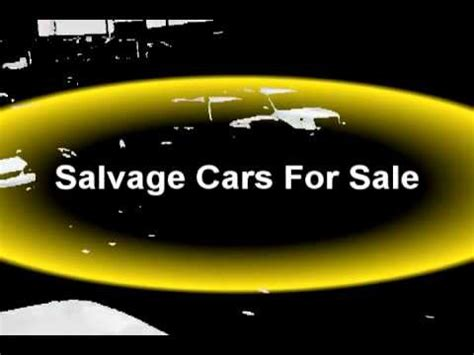 salvage cars  sale salvage car auctions buy salvage