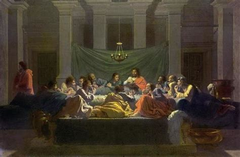 nicolas poussin   supper art print global gallery
