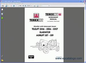 Terex Lifts Service Manuals