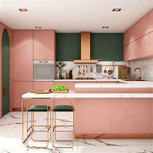 24, Gorgeous, Kitchen, Cabinet, And, Wood, Floor, Color, Combinations