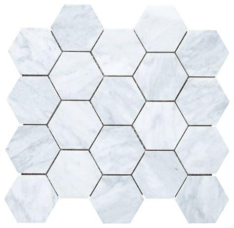 marble hex tile hexagon carrara marble tile nhl17trader com