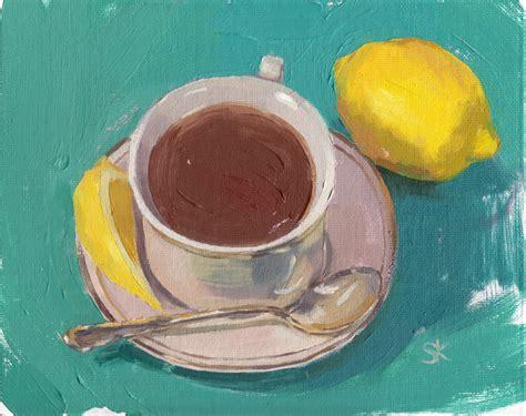 Чай с лимоном  Teaterra Teaterra