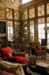 rustic cabin christmas tree