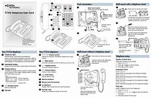 Nortel Networks Cordless Telephone T7316 User U0026 39 S Guide