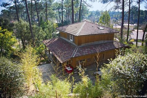 cuisine vivre une maison en bois au cœur de la pinède landaise maison créative