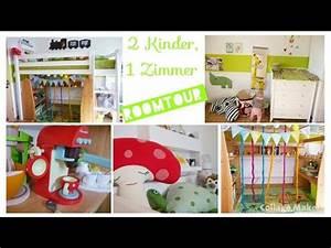 Kinderzimmer Für 2 Kinder : kinderzimmer roomtour 2 kinder spielzeug aufbewahrung ~ Lizthompson.info Haus und Dekorationen