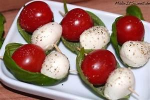 Tomate Mozzarella Spieße : tomate mozzarella spie e healthy lunch pinterest ~ Lizthompson.info Haus und Dekorationen