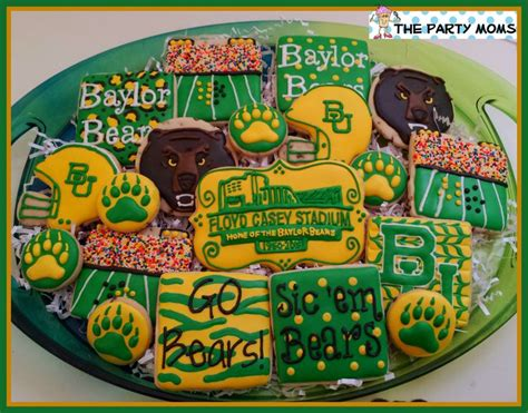 baylor cookies    game  floyd casey stadium