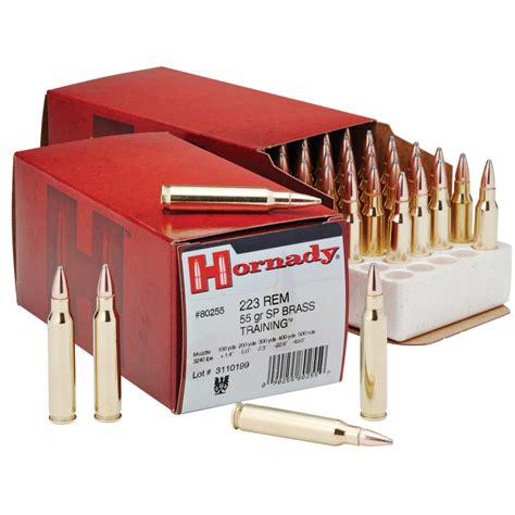 Geearsy Gr 3240 hornady custom rifle ammunition 223 rem 55 gr sp 3240 fps
