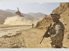 The US War in Afghanistan First a Strategic Objective
