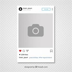Instagram template design Vector | Free Download