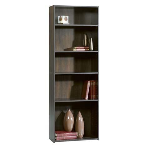 Bookcases Cherry Finish by Sauder Beginnings 5 Shelf Wood Bookcase Cinnamon Cherry