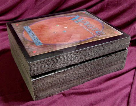 mtg custom wood deck boxes mtg deck box 2 by morgancrone on deviantart