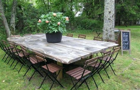 Outdoor Dining Furniture Ideas by Unique Outdoor Rustic Dining Table Modern Ideas