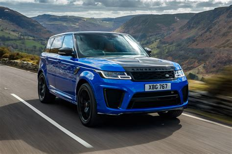 Review Land Rover Range Rover Sport by New Range Rover Sport Svr 2018 Review Auto Express
