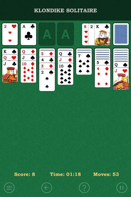 klondike solitaire  patience card game universal