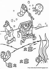 Spongebob Coloring Pages Bob Sponge Printable Colouring Sheets Boys sketch template