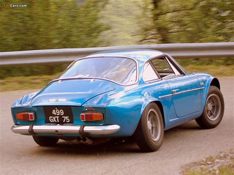 Renault Alpine A110 (1961–1977) photos (1024x768)