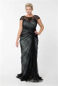 plus size evening gowns make the bigger woman