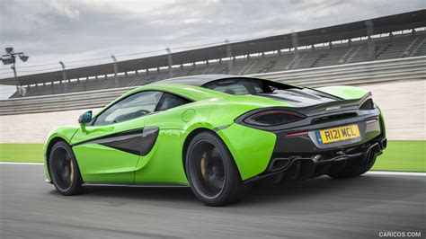 540c Hd Picture by 2016 Mclaren 570s Coupe Color Mantis Green Rear Hd