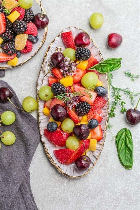 easy fruit salad   fresh fruit  sweet honey