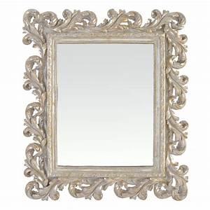 Miroir Style Baroque : miroir cadre baroque ~ Teatrodelosmanantiales.com Idées de Décoration