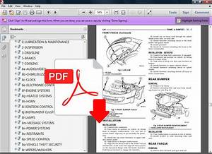 Chrysler Concorde 1998 - 2004 Oem Factory Service Repair Manual   Wiring Diagram