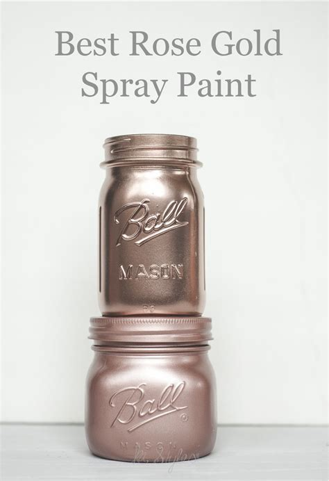 Rose Gold Spray Paint  Crafts  Gold Spray Paint, Rose