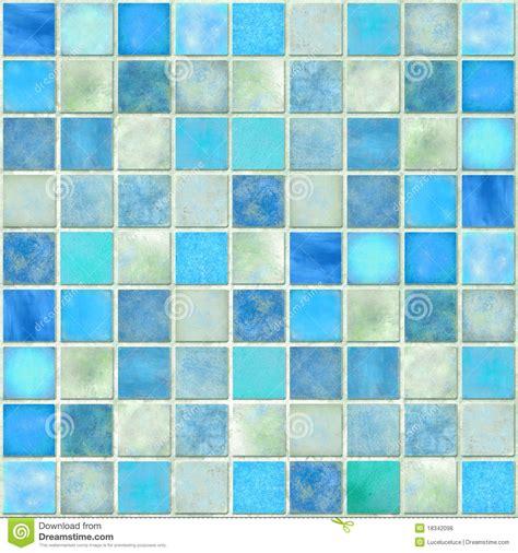 blue tile mosaic royalty  stock  image