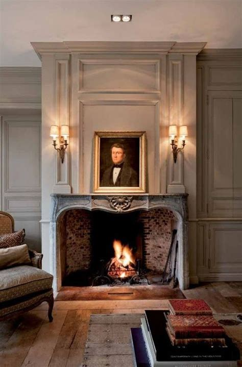 country style fireplace mantels french country living graceful interiors fresh traditional design french country