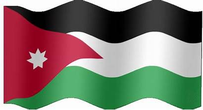 Jordan Flag Animated Flags Country Qwest Very