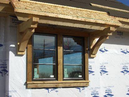 window awning  knee braces windows exterior window trim exterior mobile home exteriors