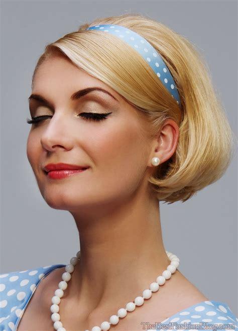 1950s Headband Hairstyle vintage bob haircuts search my hair identity