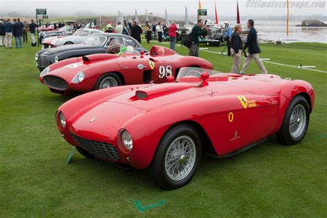 Ferrari 500 Mondial - Chassis: 0418MD - 2012 Pebble Beach ...