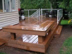 Planning Idea Top Deck Bench Plan Advanced Deck Design Wood Deck Eclectic Staircase Design Ideas For Your Modern House