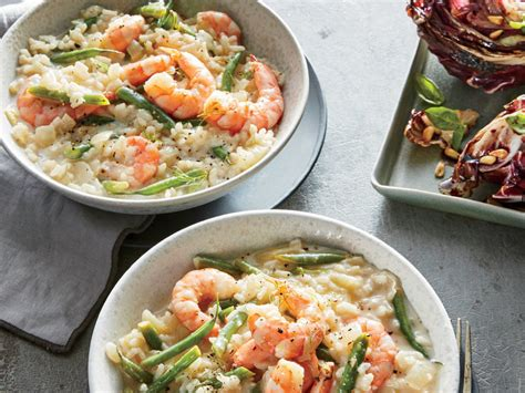 We know your recipe boxes are brimming with simple, speedy recipes that get you through the week. Lemon-Herb Risotto with Shrimp and Haricots Verts - Dinner ...